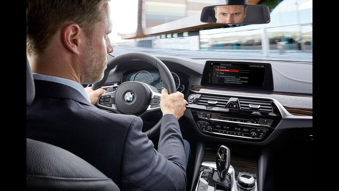 BMW Connect Modelljahr 2018