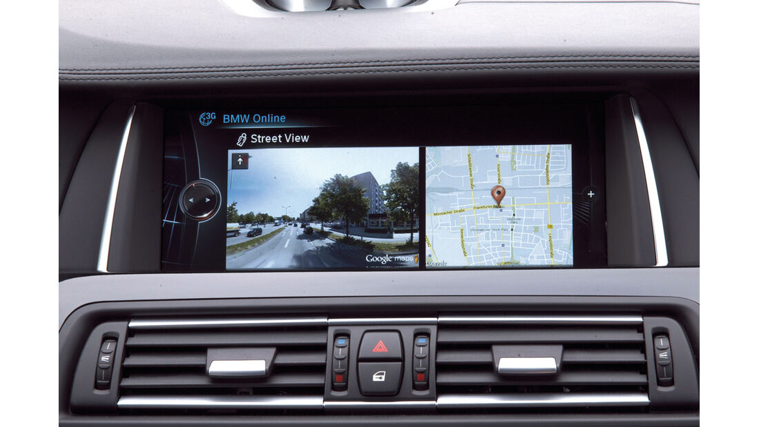 BMW Connected Drive, Google Street View