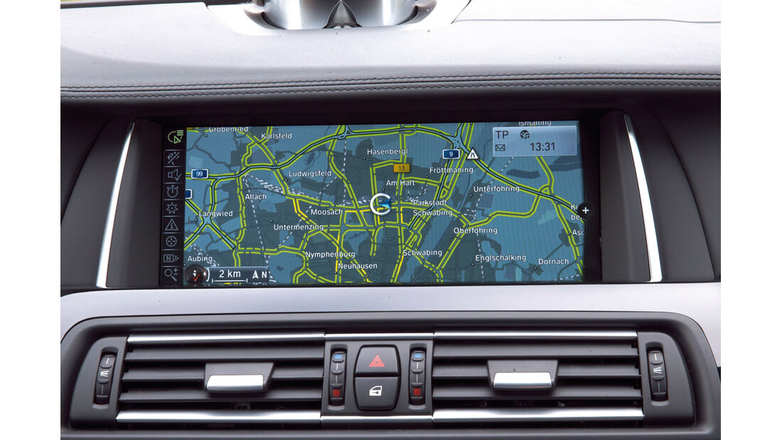 BMW Connected Drive, Navikarte