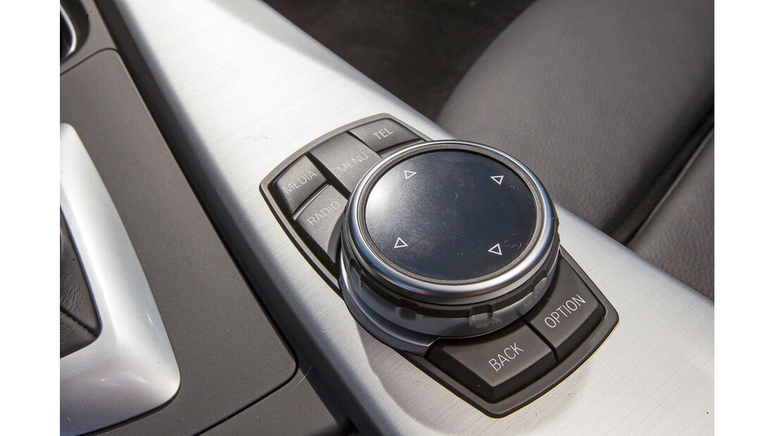 BMW Connected Drive, Touchpad