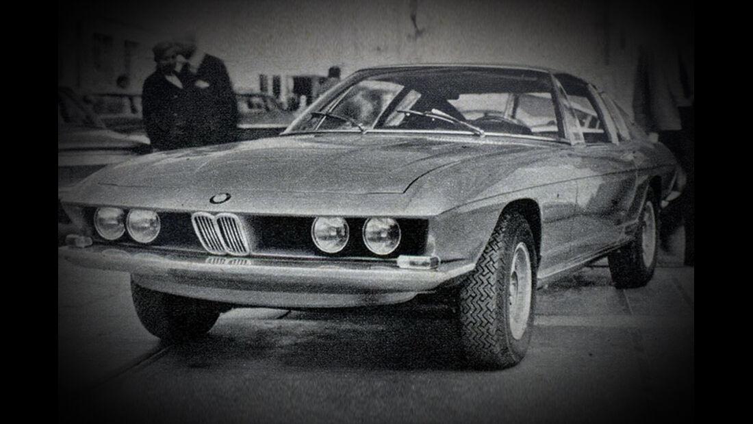 BMW, Coupé, Pietro Fruas, IAA 1969
