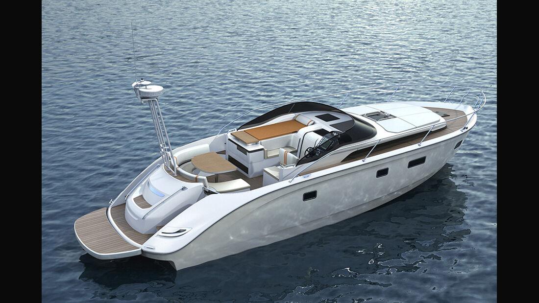 BMW Deep Blue 46, Yacht, Sportboot