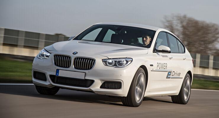 BMW Demonstrator, Plug-in-Hybrid, ams, Fahrbericht