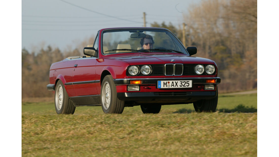 BMW Dreier Cabrio, Front