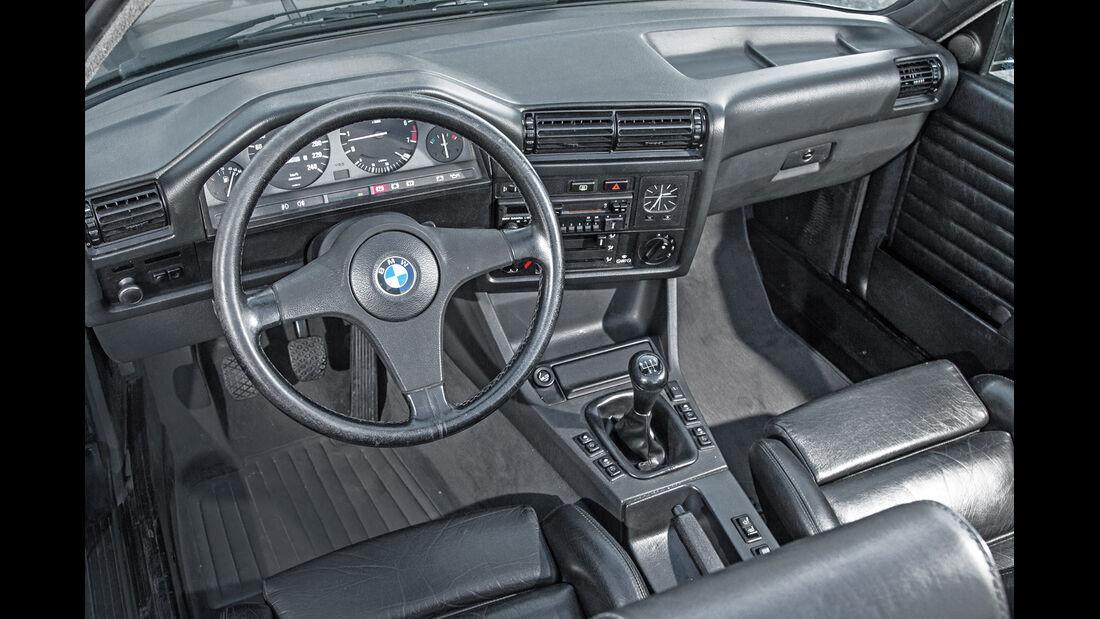 BMW Dreier E30 Cabrio, Cockpit