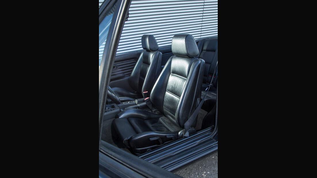 BMW Dreier E30 Cabrio, Fahrersitz