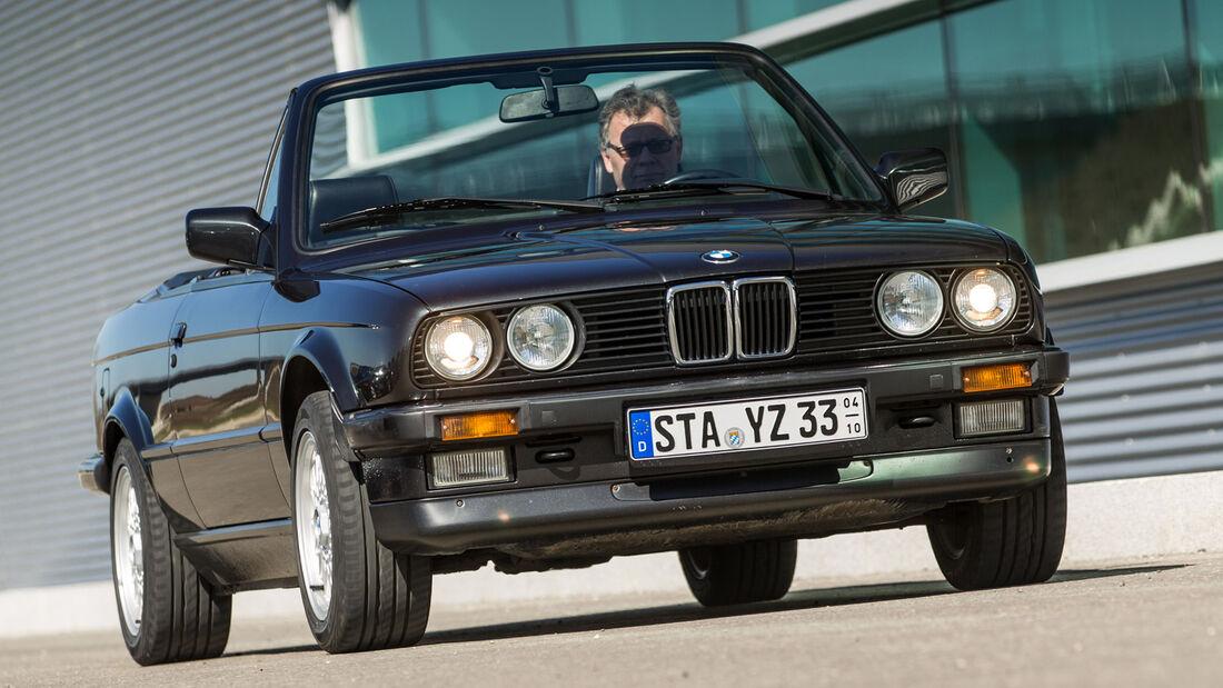 BMW Dreier E30 Cabrio, Frontansicht