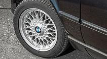 BMW Dreier E30 Cabrio, Rad, Felge, Speichenrad