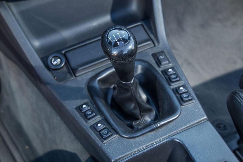 BMW Dreier E30 Cabrio, Schalthebel