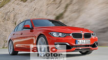 BMW Dreier, Facelift