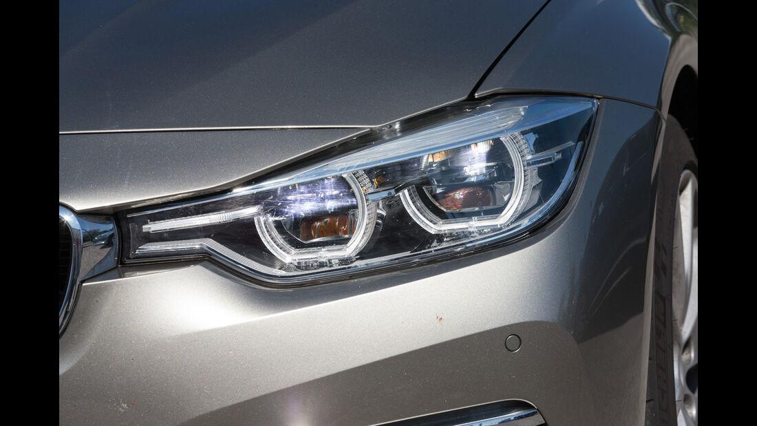BMW Dreier, Frontscheinwerfer