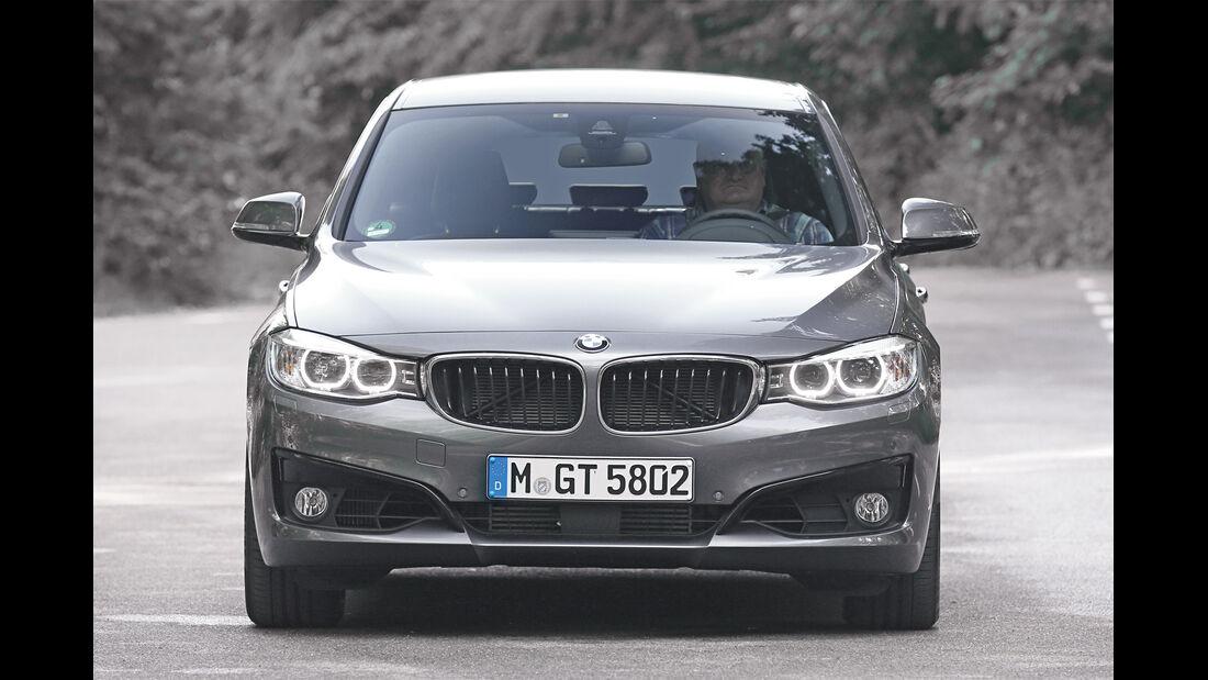 BMW Dreier GT, Frontansicht