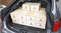 BMW Dreier GT, Kofferraum