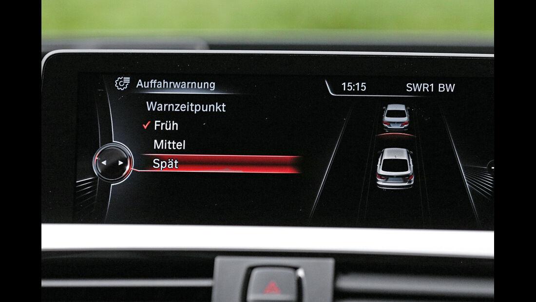 BMW Dreier GT, Notbremswarner