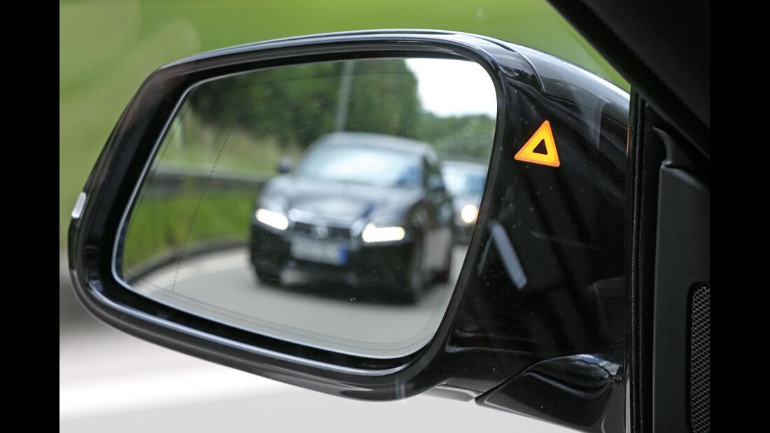 BMW Dreier GT, Seitenspiegel
