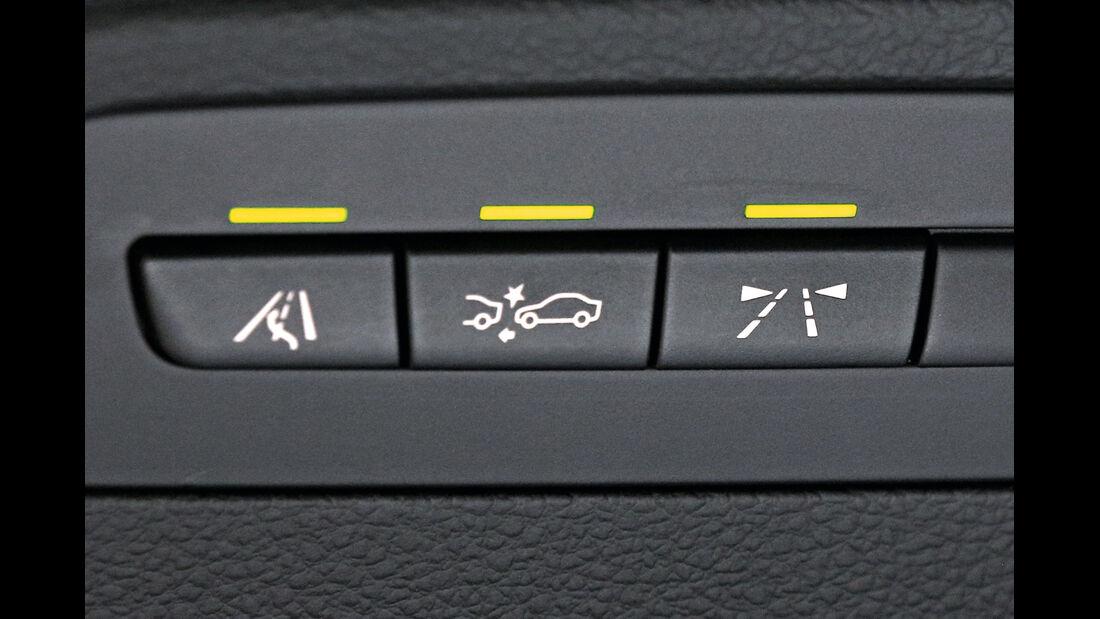 BMW Dreier GT, Tasten