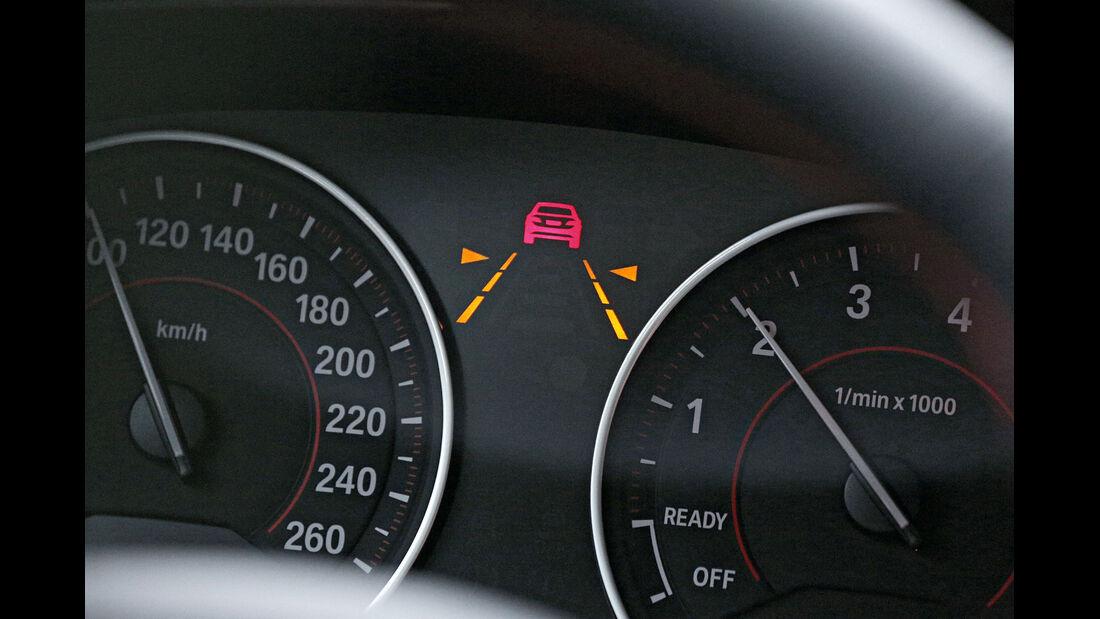 BMW Dreier GT, Warnzeichen