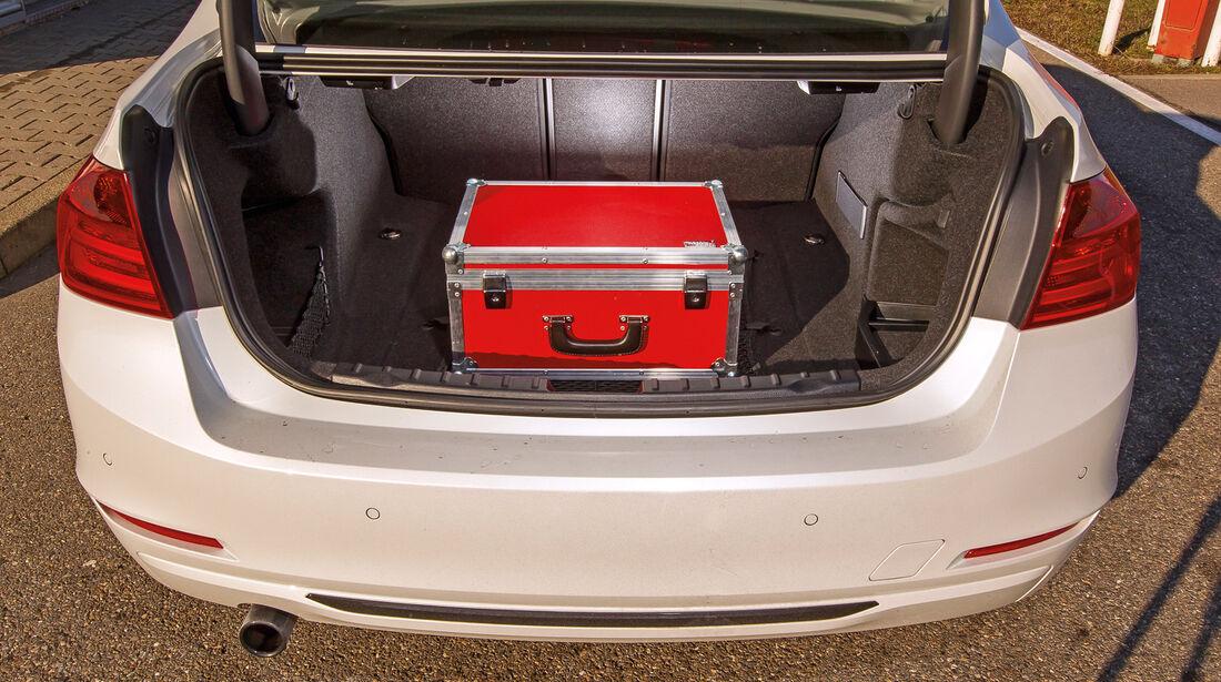 BMW Dreier, Kofferraum