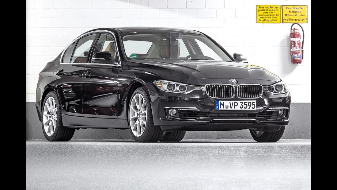 BMW Dreier Limousine, Frontansicht