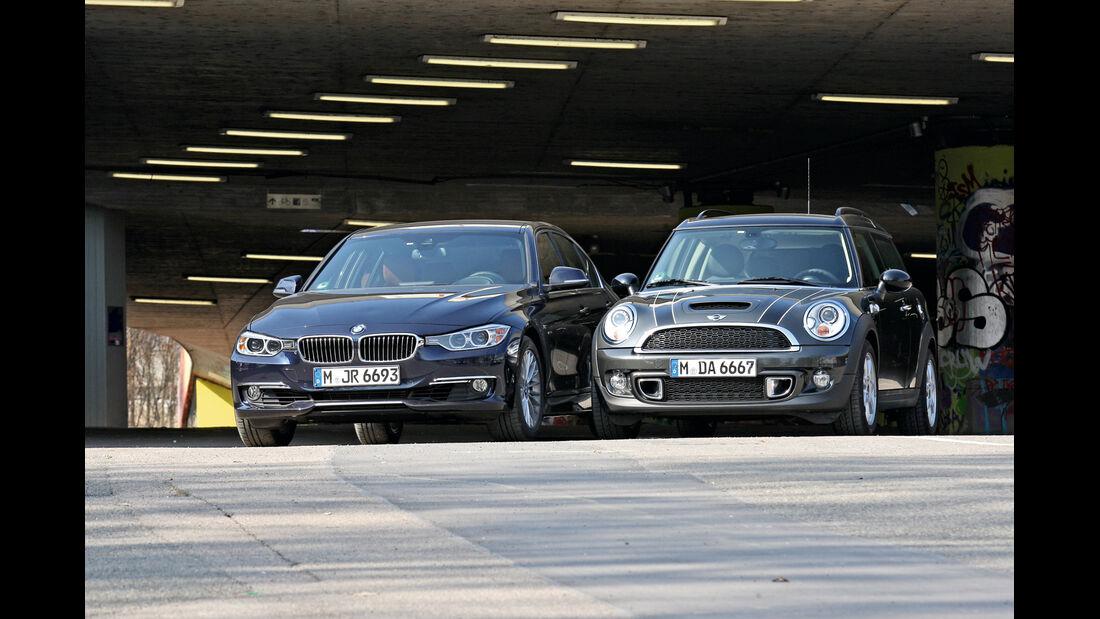 BMW Dreier, Mini Clubman, Frontansicht