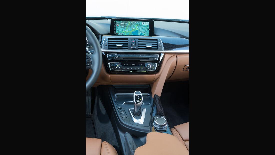 BMW Dreier, Mittelkonsole