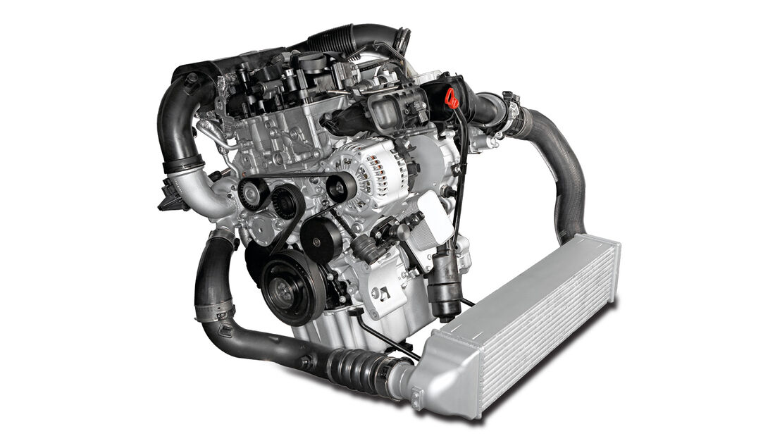 BMW Dreier, Motor