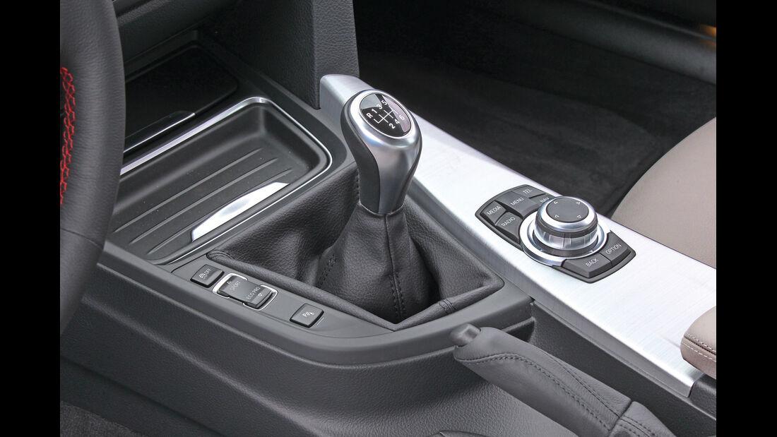 BMW Dreier, Schaltung, Schalthebel