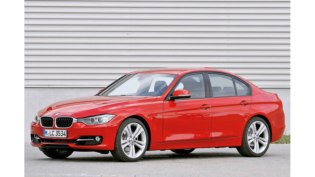 BMW Dreier, Seitenansicht