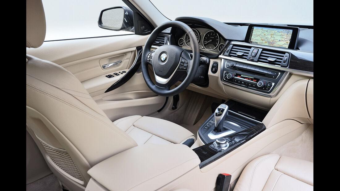 BMW Dreier Touring, Cockpit, Fahrersitz