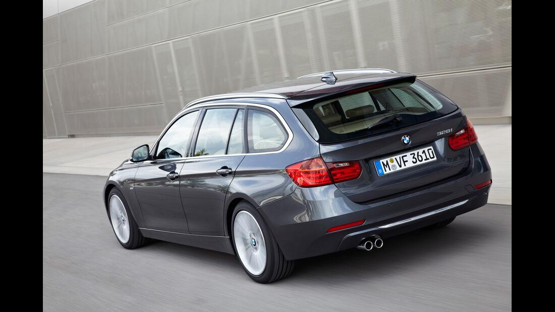 BMW Dreier Touring, Heck