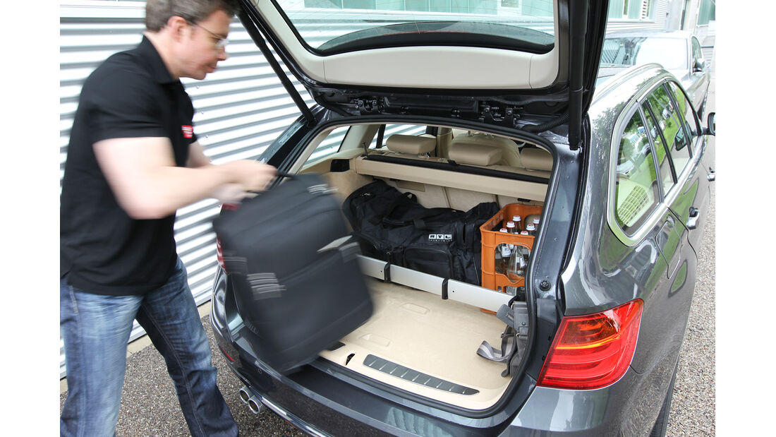 BMW Dreier Touring, Kofferraum