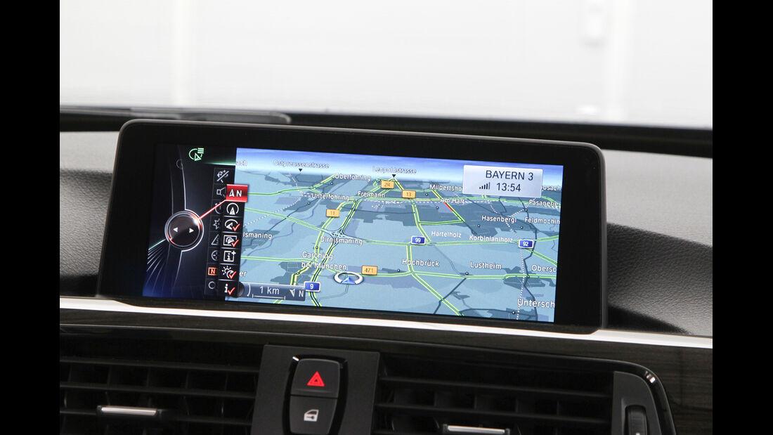 BMW Dreier Touring, Navi