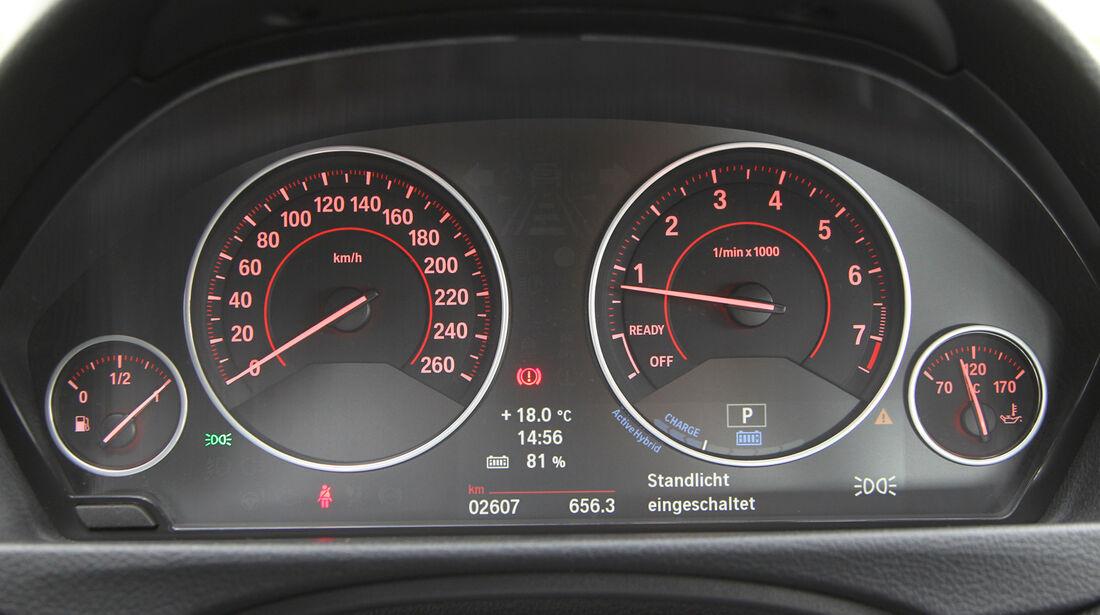BMW Dreier Touring, Rundinstrumente, Tacho