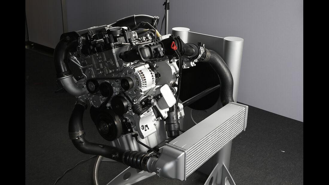 BMW Dreizylinder-Turbo 2013