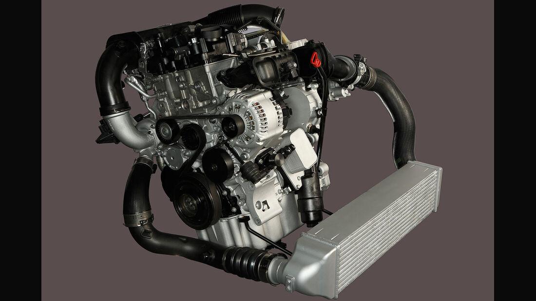 BMW Dreizylindermotor