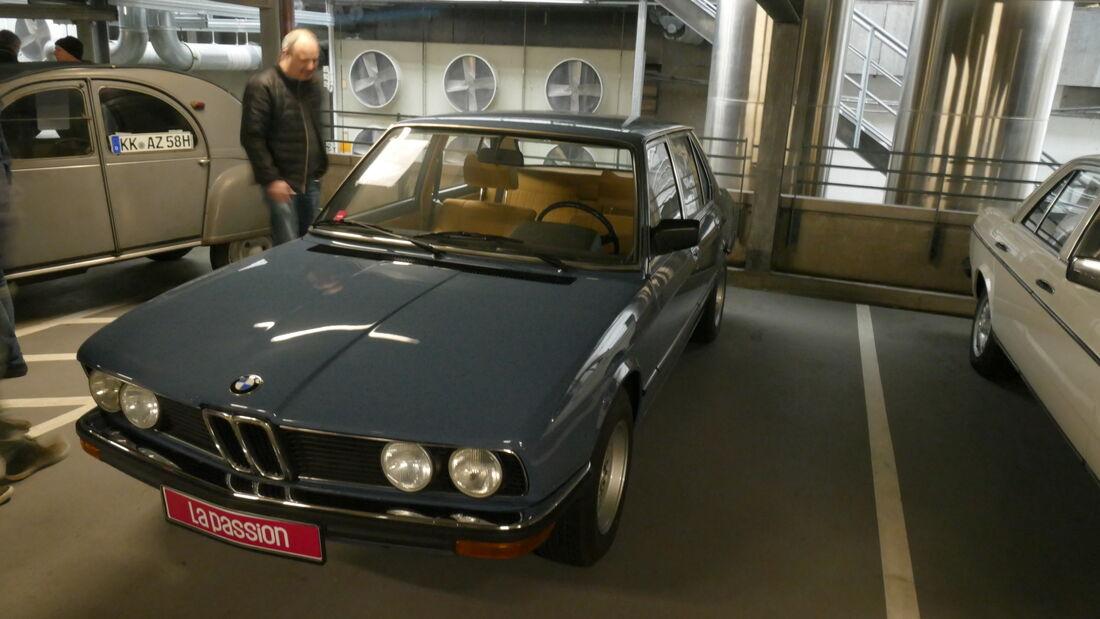 BMW E12 auf der Bremen Classic Motorshow 2020