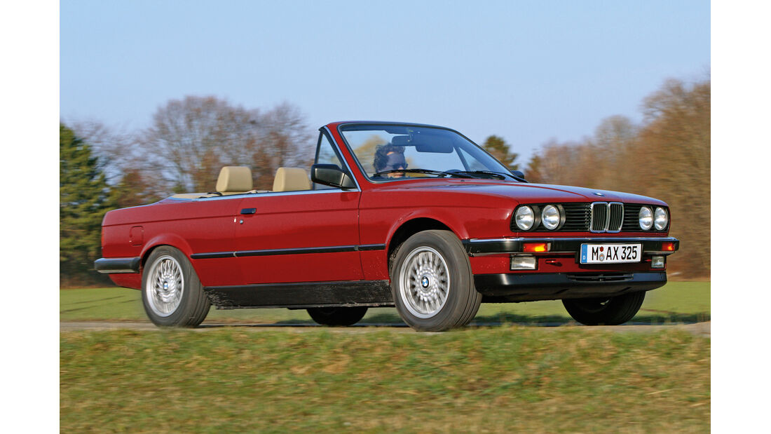 BMW E30 Cabrio , Seitenansicht