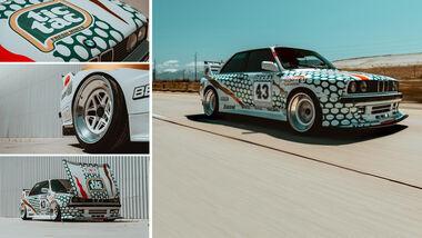 BMW E30 DTM Nachbau Kyza Mush Tic Tac USA M3