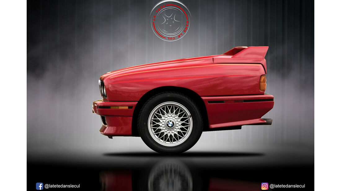 BMW E30 M3 Retusche