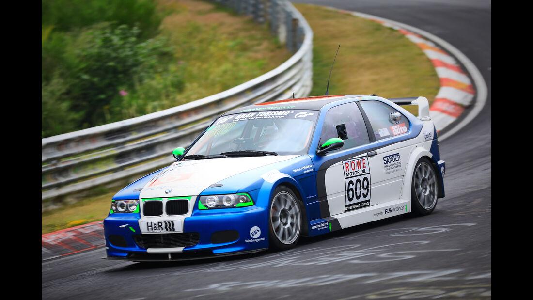 BMW E36 -  FUNmotorsport GmbH & Co KG - Startnummer #609 - H2 - VLN 2019 - Langstreckenmeisterschaft - Nürburgring - Nordschleife