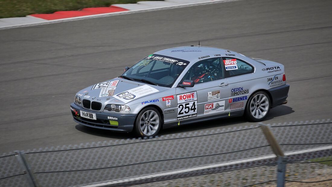 BMW E46 - Startnummer #254 - SP4 - NLS 2021 - Langstreckenmeisterschaft - Nürburgring - Nordschleife