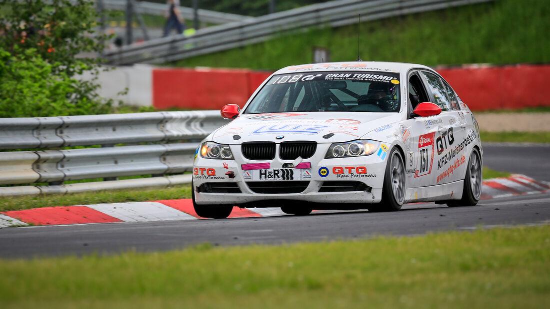 BMW E90 325 - Startnummer #151 - V 4 - 24h-Rennen - Nürburgring - Nordschleife - 03. - 06. Juni 2021