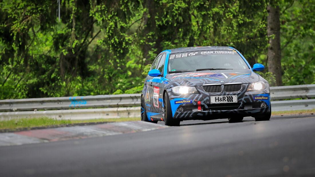 BMW E90 325i - Startnummer #152 - V 4 - 24h-Rennen - Nürburgring - Nordschleife - 03. - 06. Juni 2021