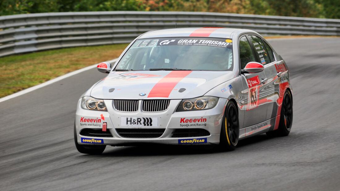 BMW E90 - MSC Wahlscheid e.V./Keeevin Sports & Racing - Startnummer #153 - Klasse: V4 - 24h-Rennen - Nürburgring - Nordschleife - 24. bis 27. September 2020