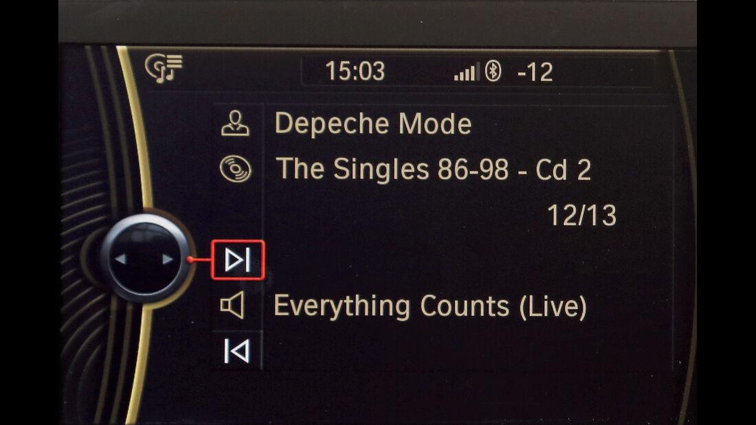 BMW Einser, Audio