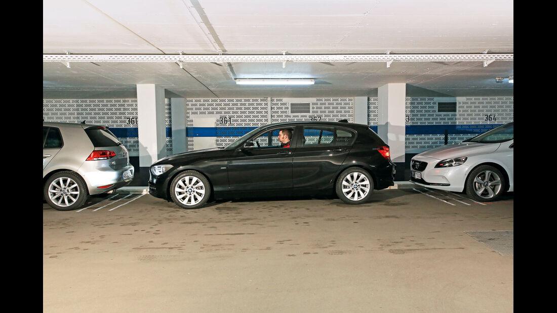 BMW Einser, Einparktest
