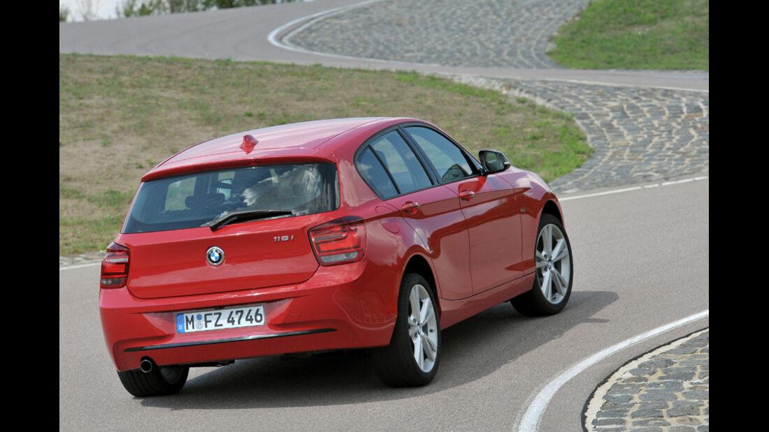 BMW Einser, Heck, Rückansicht
