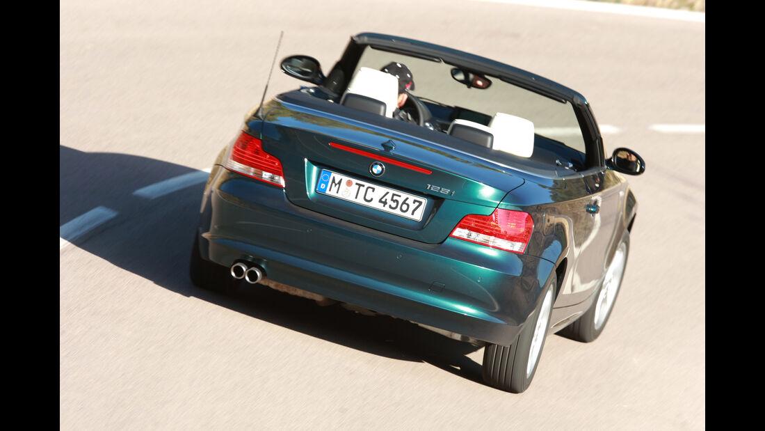 BMW Einser, Heckansicht
