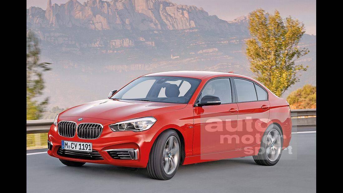 BMW Einser Limousine, Seitenansicht