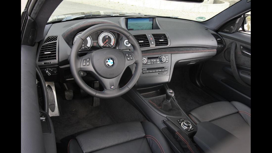 BMW Einser M Coupe, Cockpit